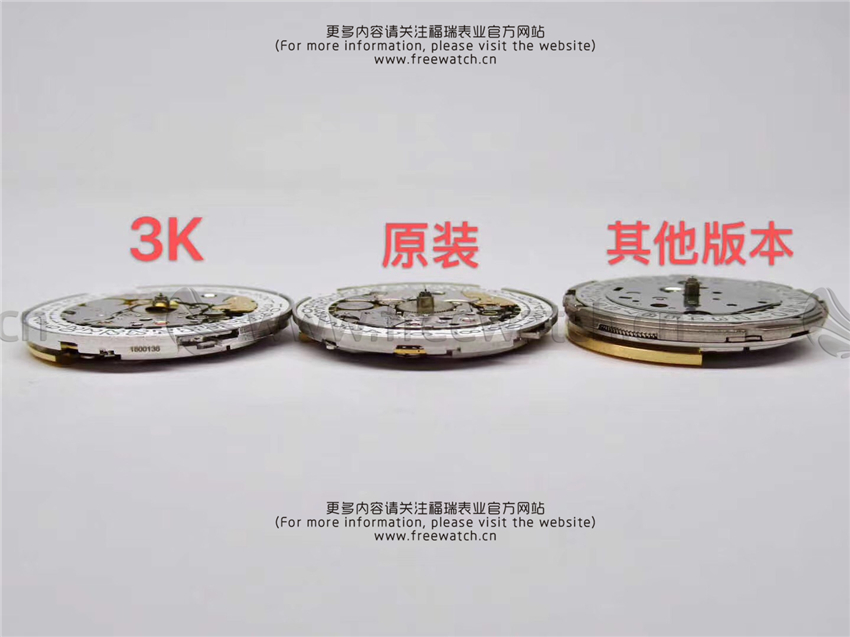3K厂百达翡丽手雷与正品对比评测和其它版本差别在哪-第11张
