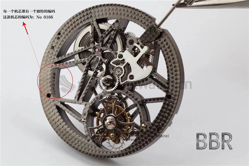 BBR厂V3罗杰杜比王者镂空陀飞轮升级了哪些方面-第5张