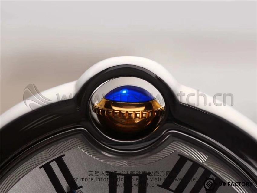 V9厂卡地亚蓝气球间金包金款升级了哪些方面-第43张