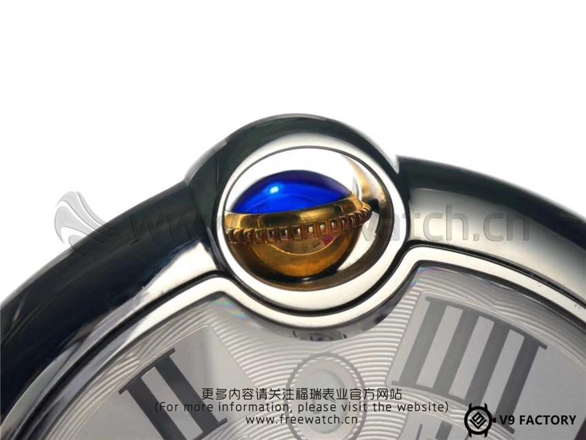 V9厂卡地亚蓝气球间金包金款升级了哪些方面-第38张