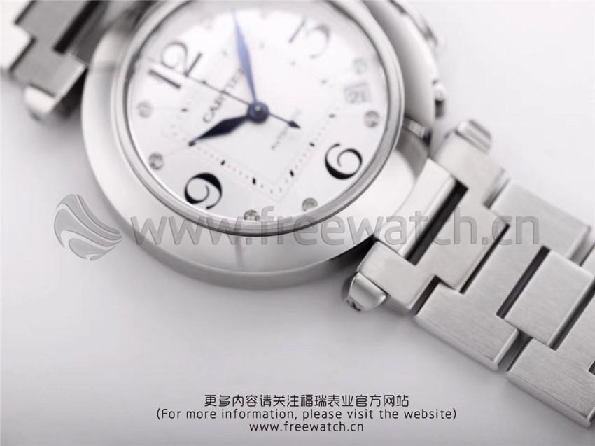 V9厂卡地亚帕莎系列W31074M7机械女款与正品对比评测-第22张
