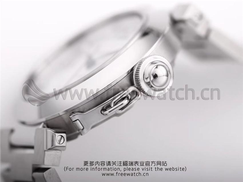 V9厂卡地亚帕莎系列W31074M7机械女款与正品对比评测-第23张