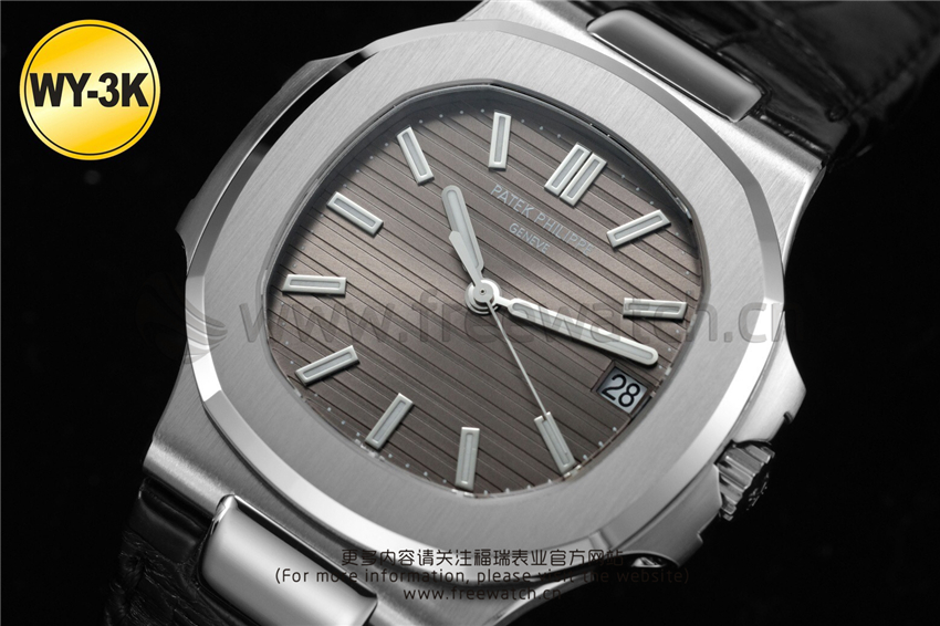 WY-3K厂百达翡丽鹦鹉螺玫瑰金5711与正品对比评测-第14张