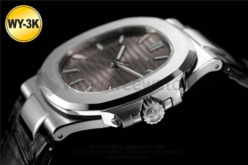 WY-3K厂百达翡丽鹦鹉螺玫瑰金5711与正品对比评测-第17张