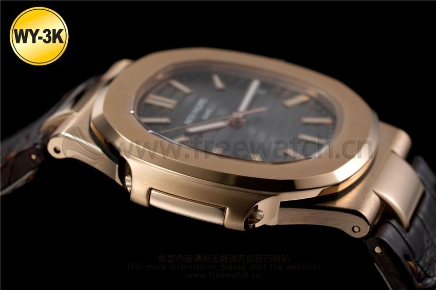 WY-3K厂百达翡丽鹦鹉螺玫瑰金5711与正品对比评测-第21张