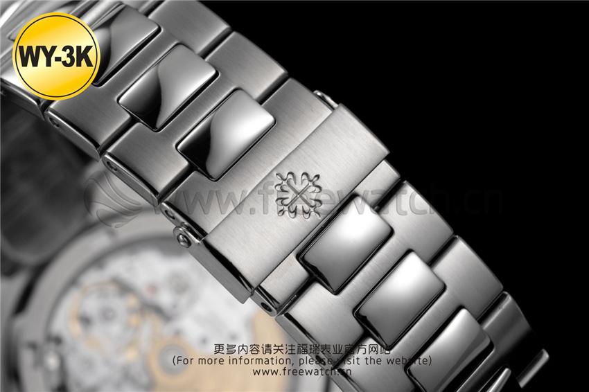 WY-3K厂百达翡丽鹦鹉螺玫瑰金5711与正品对比评测-第37张