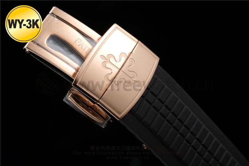 WY-3K厂百达翡丽手雷5167对比正品评测-第28张