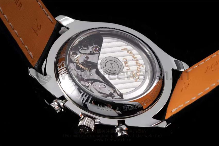 KL厂浪琴月相名匠八针款白盘/蓝盘对比正品评测-第31张