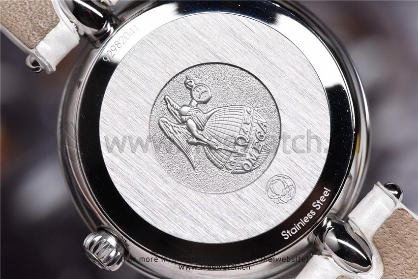 3S厂欧米茄碟飞典雅系列女士腕表对比正品评测-第16张