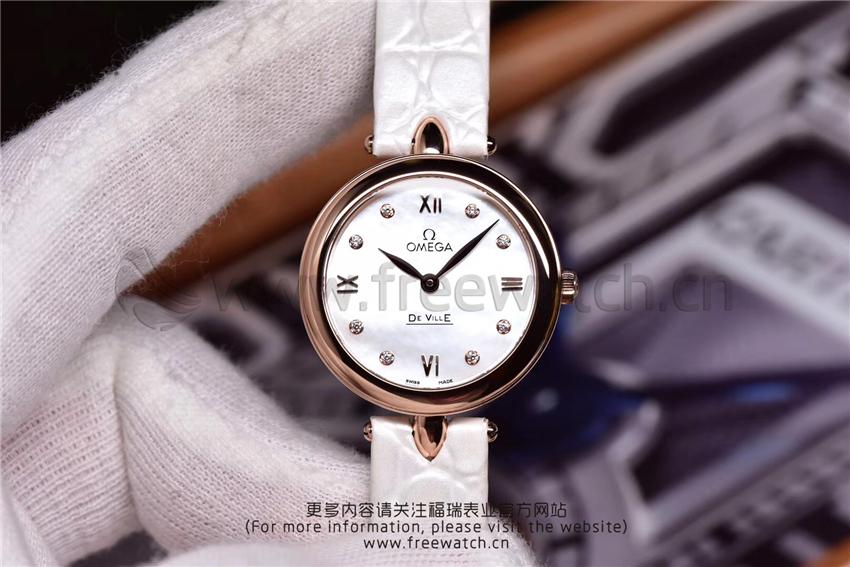 3S厂欧米茄碟飞典雅系列女士腕表对比正品评测-第28张
