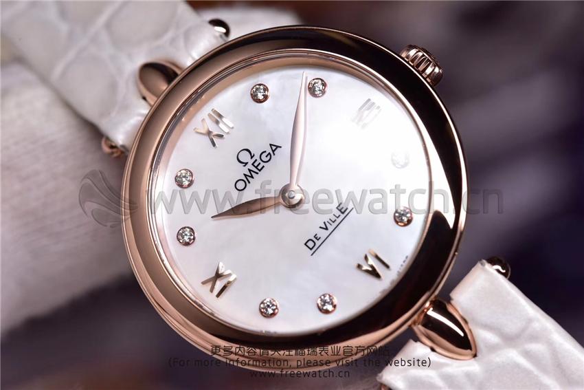 3S厂欧米茄碟飞典雅系列女士腕表对比正品评测-第30张