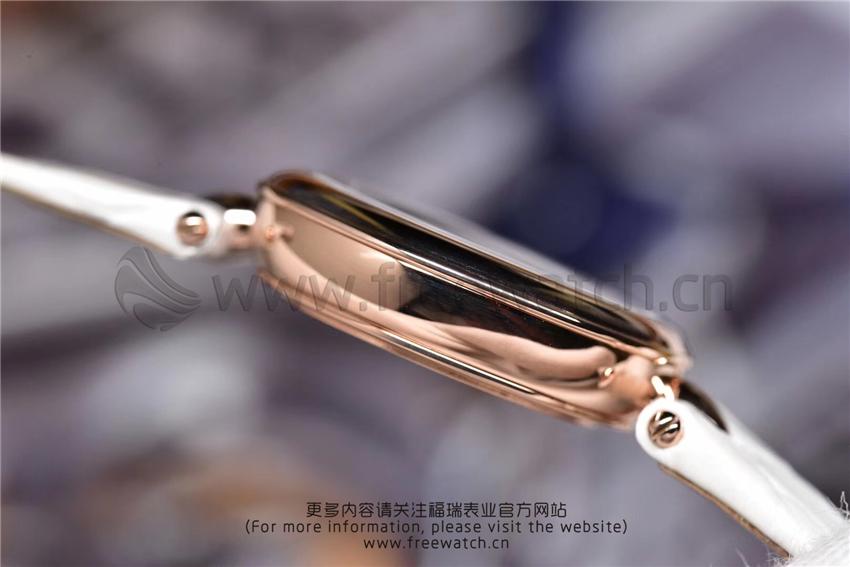 3S厂欧米茄碟飞典雅系列女士腕表对比正品评测-第32张