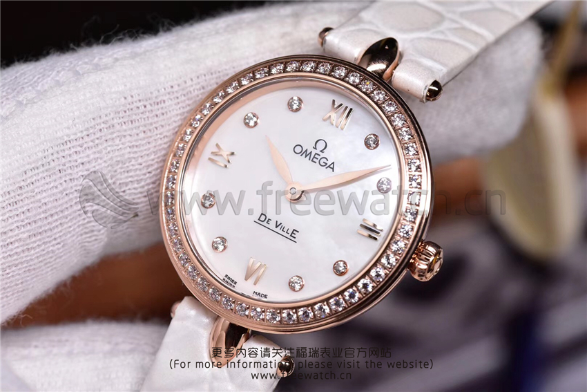3S厂欧米茄碟飞典雅系列女士腕表对比正品评测-第38张