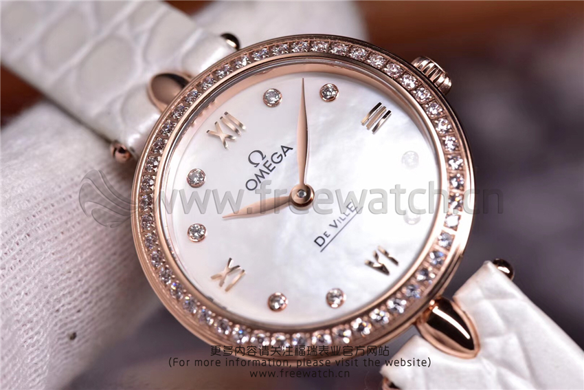 3S厂欧米茄碟飞典雅系列女士腕表对比正品评测-第39张