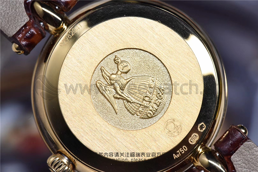 3S厂欧米茄碟飞典雅系列女士腕表对比正品评测-第52张