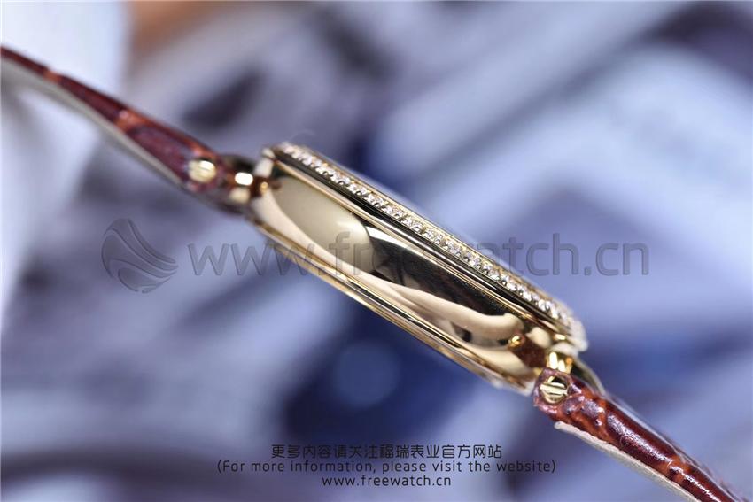 3S厂欧米茄碟飞典雅系列女士腕表对比正品评测-第59张
