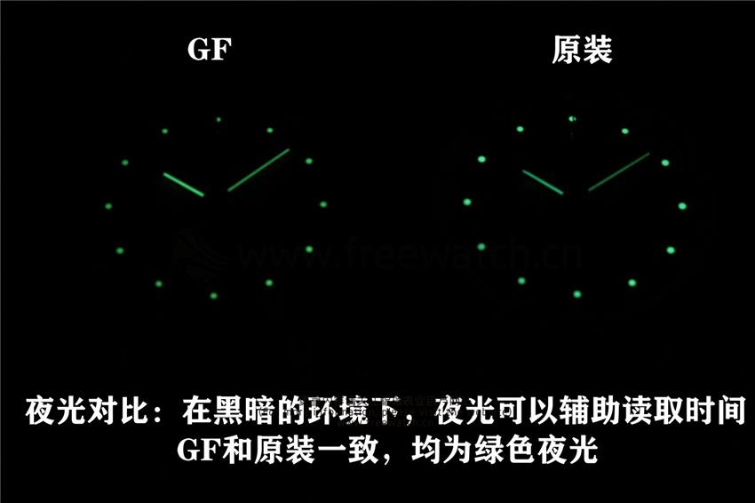 GF厂百年灵璞雅蜘蛛侠与正品对比评测-第9张